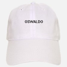 Oswaldo Digital Name Design Baseball Baseball Cap