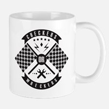 Checkers or Wreckers Racing Mug
