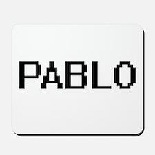 Pablo Digital Name Design Mousepad