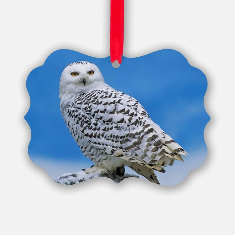 Snowy Owl Ornament