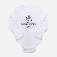 Keep Calm and Social Work ON Body Suit