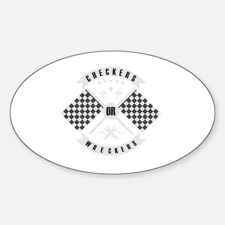 Cute Ken block Sticker (Oval)