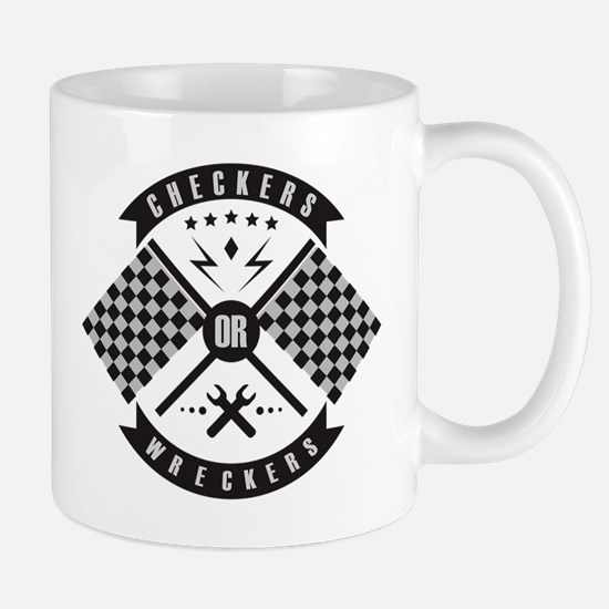 It's only Checkers or Wreckers Mug