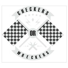 It's only Checkers or Wreckers Poster