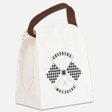 It's only Checkers or Wreckers Canvas Lunch Bag