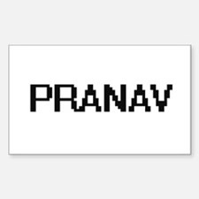 Pranav Digital Name Design Decal