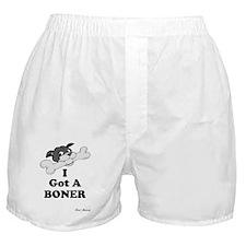I GOT A BONER Boxer Shorts