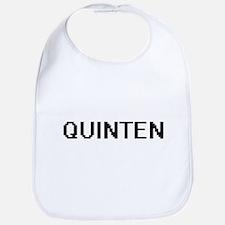 Quinten Digital Name Design Bib