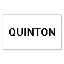 Quinton Digital Name Design Decal