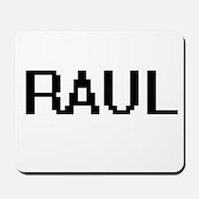Raul Digital Name Design Mousepad