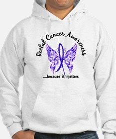 Rectal Cancer Butterfly 6.1 Hoodie