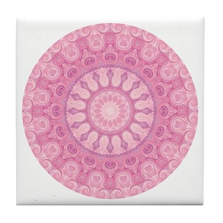 """""""Compassionate Ones"""" Mandala Tile Coaster"""