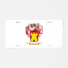 Lazaro Aluminum License Plate