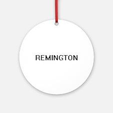 Remington Digital Name Design Ornament (Round)