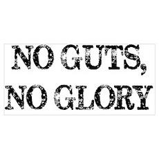 No Guts, No Glory Poster