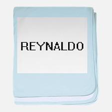 Reynaldo Digital Name Design baby blanket
