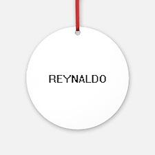Reynaldo Digital Name Design Ornament (Round)