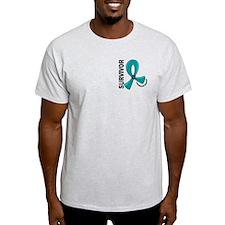 Peritoneal Cancer Survivor 12 T-Shirt