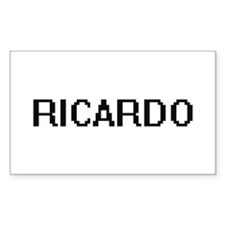 Ricardo Digital Name Design Decal