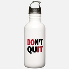 Don't Quit - Do It Sports Water Bottle
