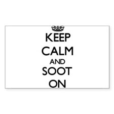 Keep Calm and Soot ON Decal
