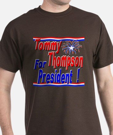 T Thompson for President T-Shirt