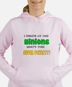 SUPERPOWERS.png Women's Hooded Sweatshirt