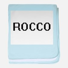 Rocco Digital Name Design baby blanket