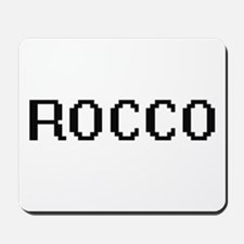 Rocco Digital Name Design Mousepad