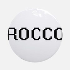 Rocco Digital Name Design Ornament (Round)