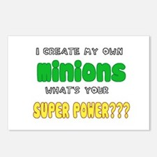 SUPERPOWERS.png Postcards (Package of 8)