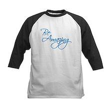 Be Amazing - Blue Baseball Jersey