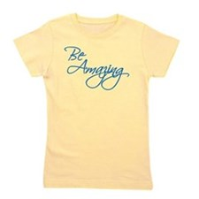 Be Amazing - Blue Girl's Tee