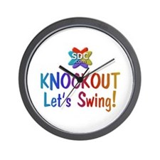 KNOCKOUT Products Wall Clock