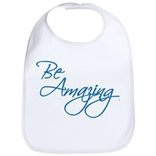 Be Amazing - Blue Bib