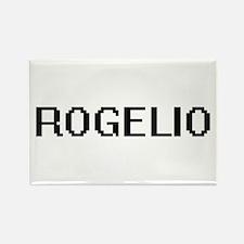 Rogelio Digital Name Design Magnets