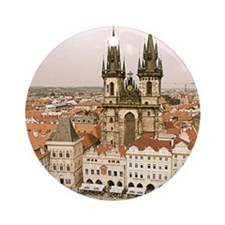 Prague Ornament (Round)