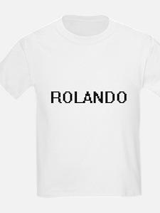Rolando Digital Name Design T-Shirt