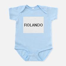 Rolando Digital Name Design Body Suit