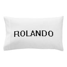 Rolando Digital Name Design Pillow Case