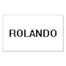 Rolando Digital Name Design Decal