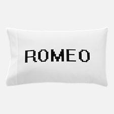 Romeo Digital Name Design Pillow Case