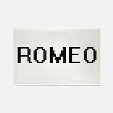 Romeo Digital Name Design Magnets
