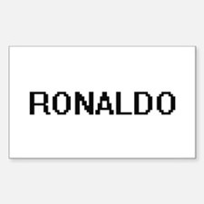Ronaldo Digital Name Design Decal