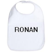 Ronan Digital Name Design Bib