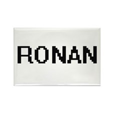 Ronan Digital Name Design Magnets