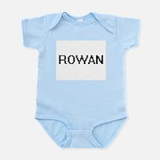 Rowan Digital Name Design Body Suit