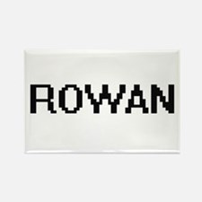 Rowan Digital Name Design Magnets