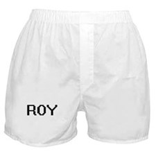 Roy Digital Name Design Boxer Shorts