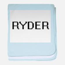 Ryder Digital Name Design baby blanket